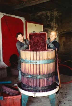 Svinatura - primi anni 90 - Claudio e il papà Oreste