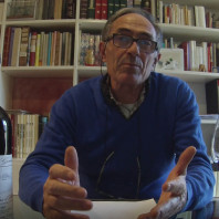 Lorenzo Tablino degusta la nostra Barbera d'Alba DOC 2014