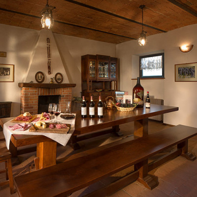 Sala di degustazione - Cascina Gramolere