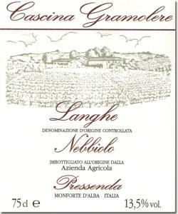 Langhe Nebbiolo | Cascina Gramolere