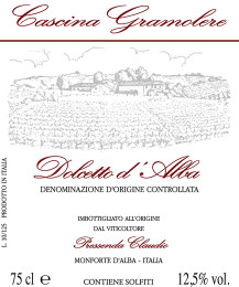 Dolcetto d'Alba D.O.C. 2008