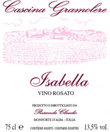 Vino rosato Isabella